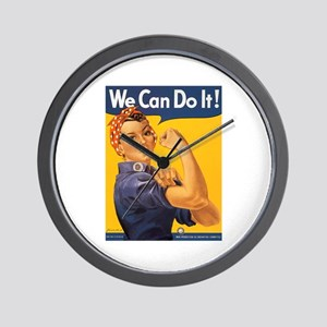 We Can Do It Poster Wall Clock