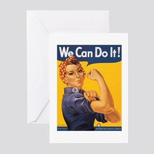 We Can Do It Poster Greeting Cards (Pk of 10)