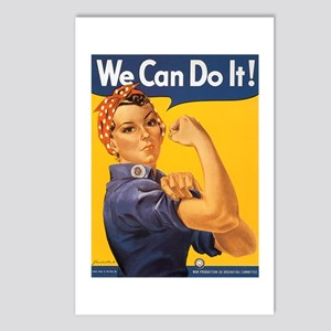 We Can Do It Poster Postcards (Package of 8)