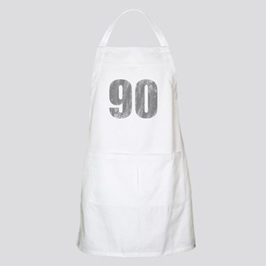 Stonewashed 90th Birthday Apron