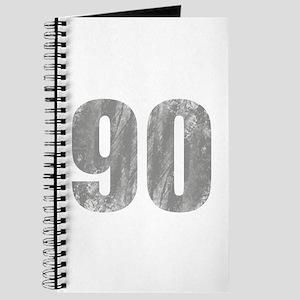Stonewashed 90th Birthday Journal