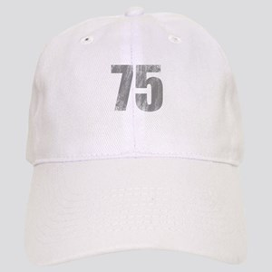 Stonewashed 75th Birthday Cap