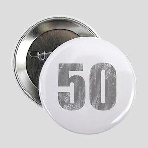 "Stonewashed 50th Birthday 2.25"" Button"