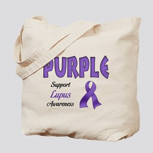 Think PURPLE Tote Bag