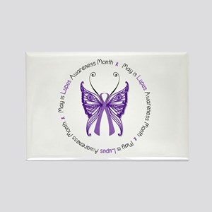 May is Lupus Awareness Month! Rectangle Magnet