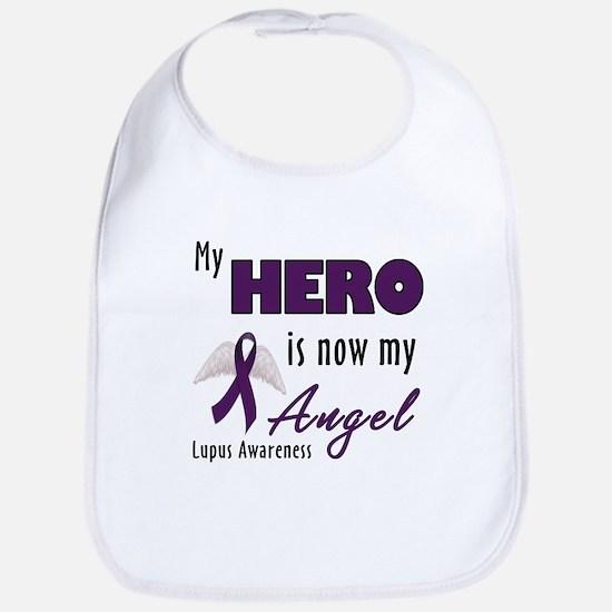 My hero is now my Angel - Lupus Bib