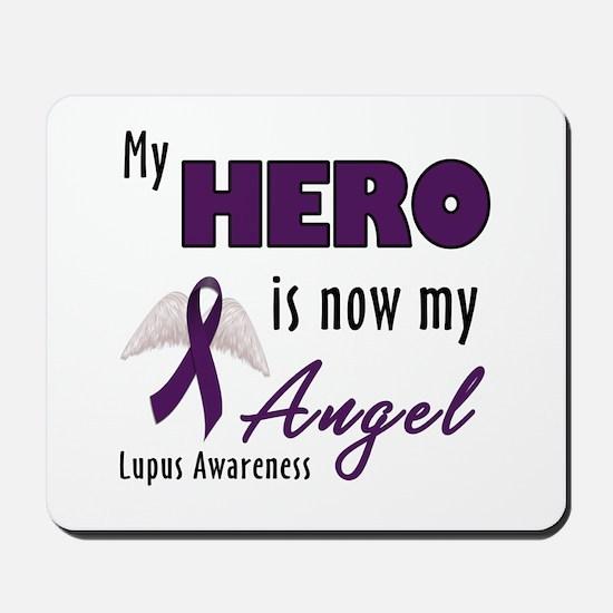My hero is now my Angel - Lupus Mousepad