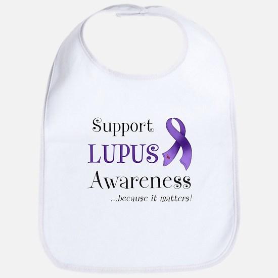 Support Lupus Awareness Bib