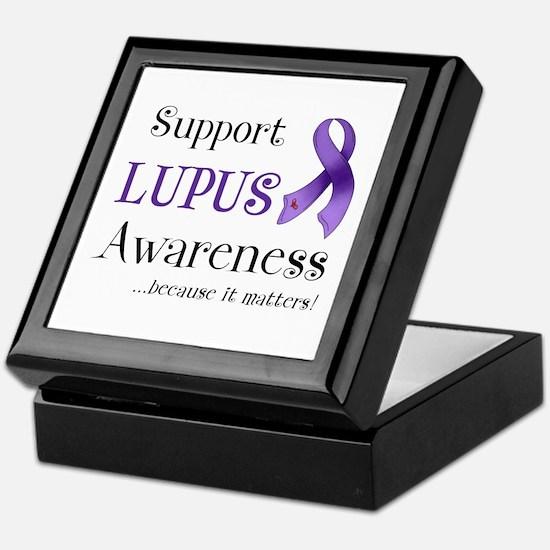 Support Lupus Awareness Keepsake Box