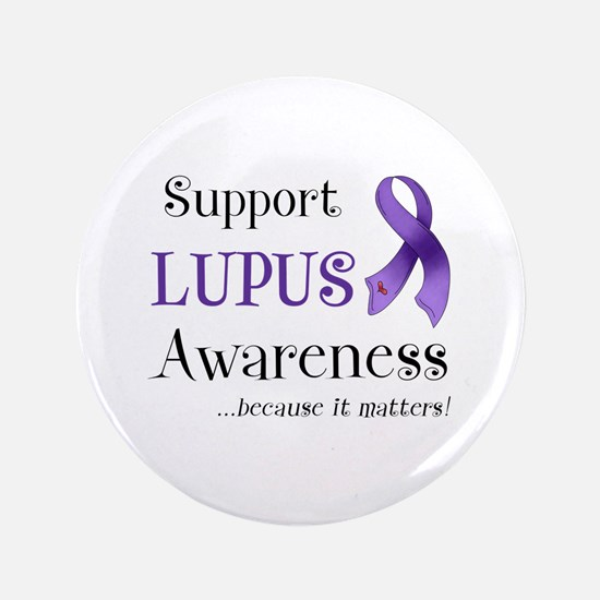 "Support Lupus Awareness 3.5"" Button (100 pack)"