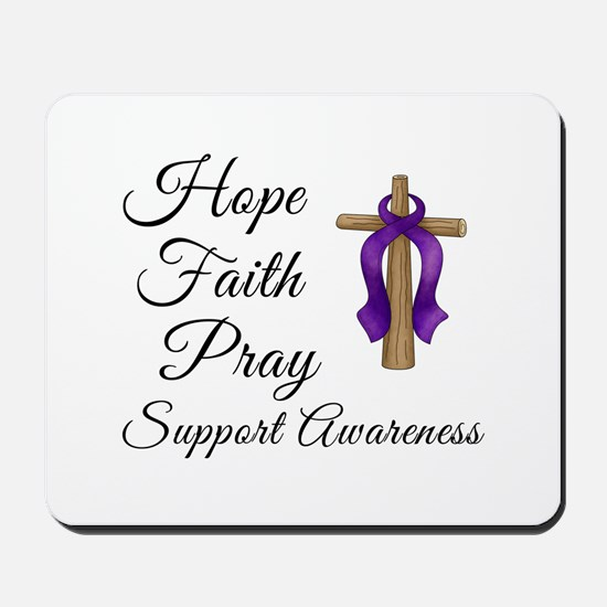 Support Awareness - Lupus Cross Mousepad