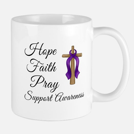 Support Awareness - Lupus Cross Mug