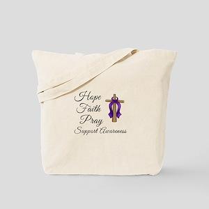 Support Awareness - Lupus Cross Tote Bag