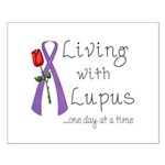 Living with Lupus One Day at a Time Small Poster