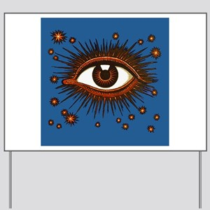 All Seeing Eye Yard Sign