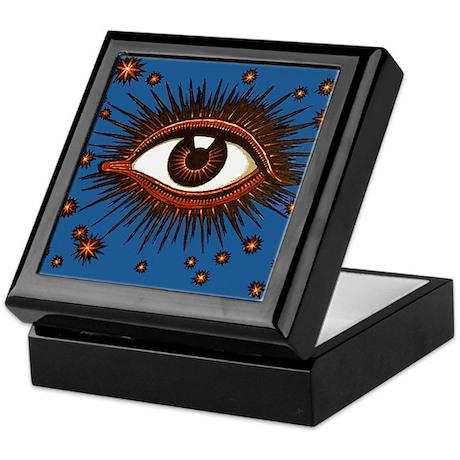 All Seeing Eye Keepsake Box