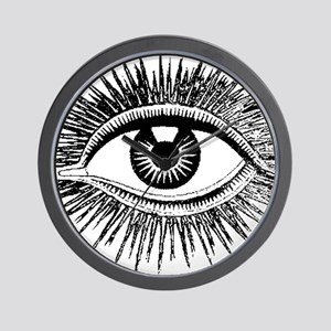 All Seeing Eye Wall Clock