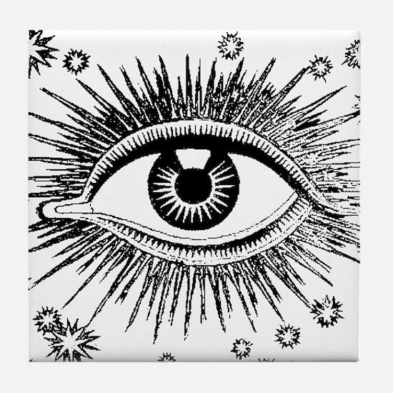 All Seeing Eye Tile Coaster