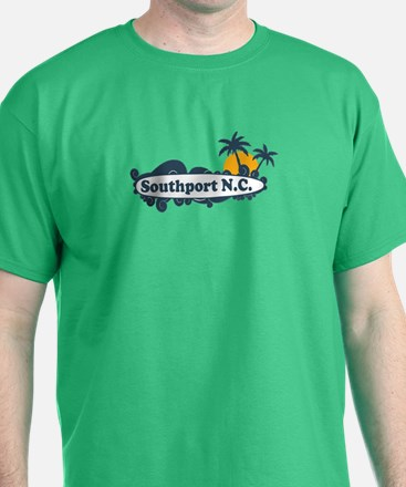 Southport NC - Surf Design T-Shirt