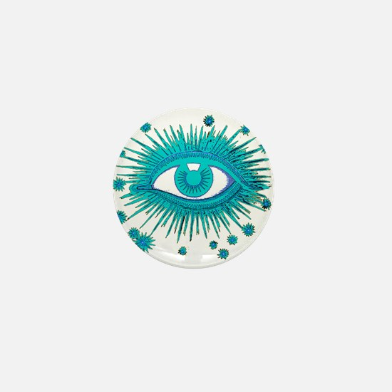 All Seeing Eye Mini Button