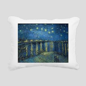 Van Gogh: Starry Night O Rectangular Canvas Pillow