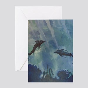 Uncharted Realm Greeting Card