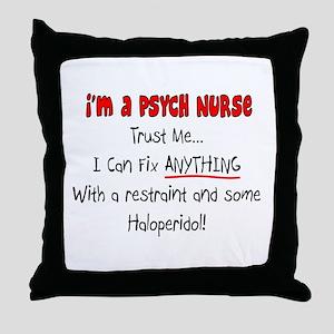 Clinical Nursing Instructor Throw Pillow