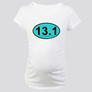 Half Marathon 13.1 Miles Maternity T-Shirt