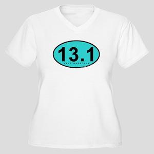 Half Marathon 13.1 Miles Women's Plus Size V-Neck