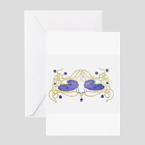 Flitter Watercolor Greeting Card