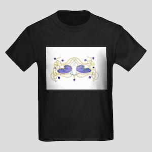 Flitter Watercolor Kids Dark T-Shirt