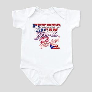 Puerto rican girl Infant Bodysuit