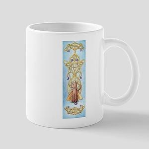 Art Nouveau Fairy Cat Mug