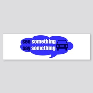 See & Say - Sticker (Bumper)
