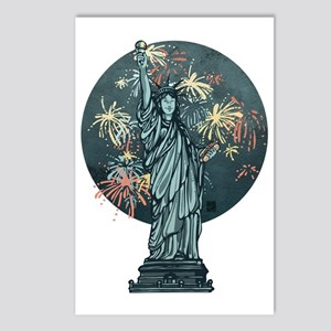 4th of July: Independence Day Postcards (8 pack)