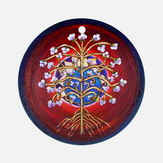A Magical Tree of Life Ornament (Round)