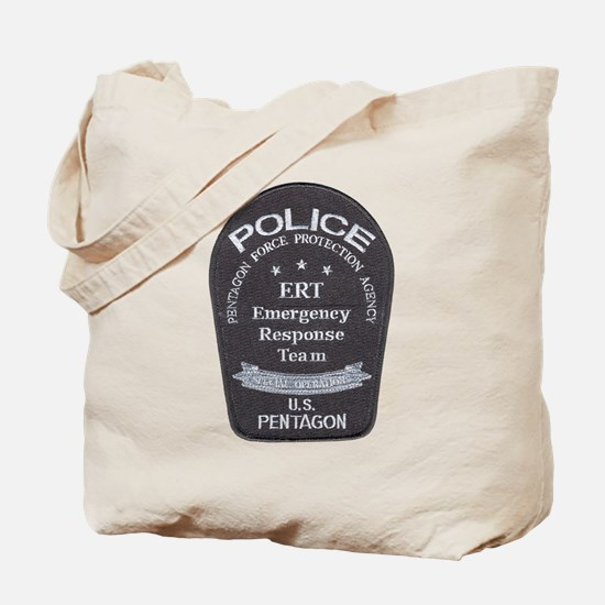 Pentagon Police ERT Tote Bag