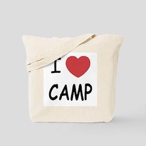 I heart camp Tote Bag