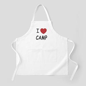 I heart camp Apron