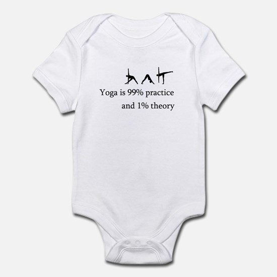 Yoga Practice Infant Bodysuit