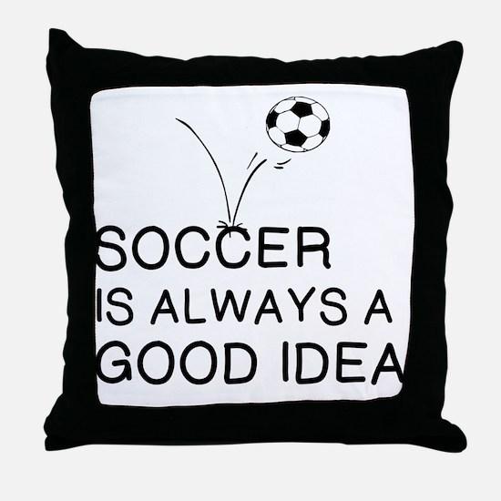 Cool Good idea Throw Pillow