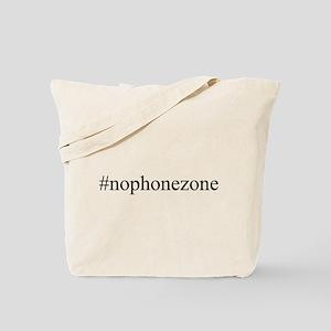 #nophonezone Tote Bag