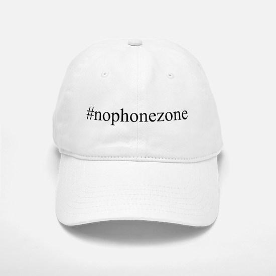 #nophonezone Baseball Baseball Cap
