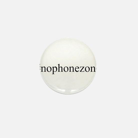 #nophonezone Mini Button