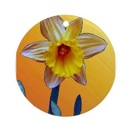 Daffodil Ornament (Round)