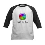 Wait For It Kids Baseball Jersey