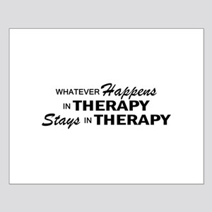 Whatever Happens - Therapy Small Poster