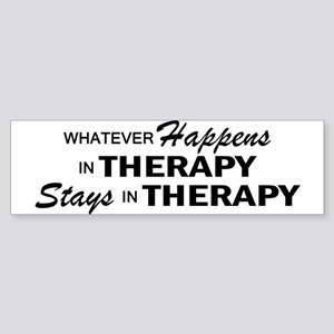 Whatever Happens - Therapy Sticker (Bumper)