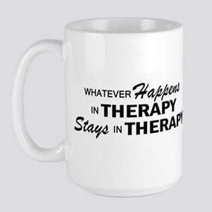 Whatever Happens - Therapy Large Mug