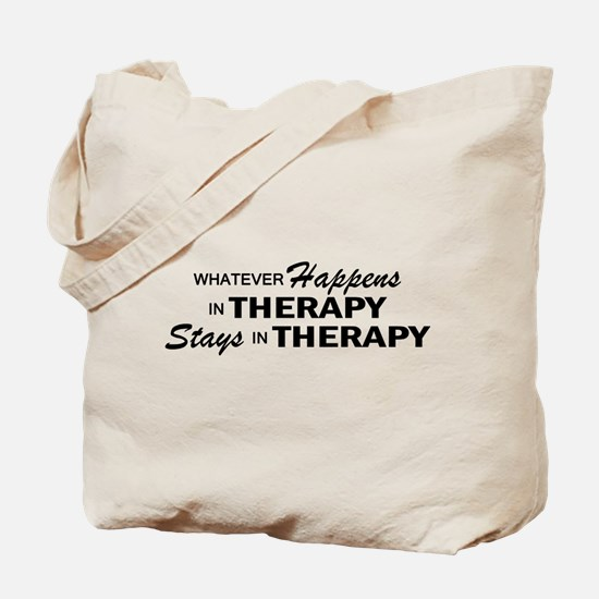 Whatever Happens - Therapy Tote Bag